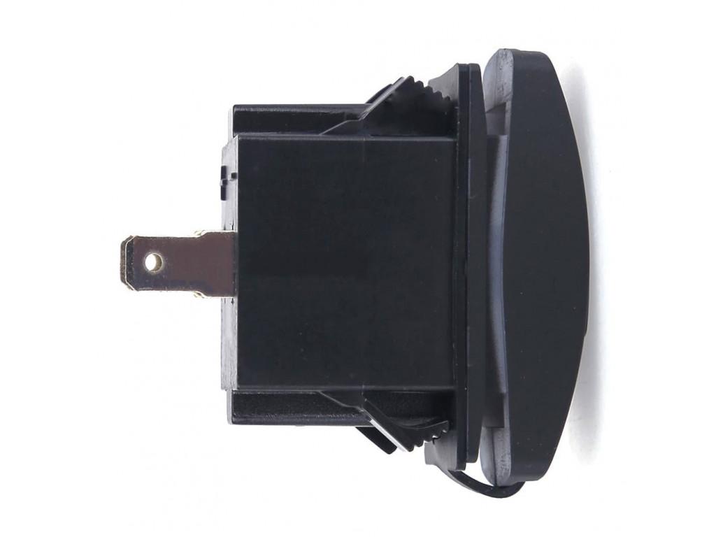 usb to a subway car Dual USB Socket Charger 2 USB 3.1A green backlight TUC-RA23-BLK-GRN